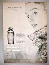 Bond Street Perfume by Yardley PRINT AD - 1954