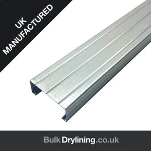 DRYLINING METAL STUD PARTITION, FROM ONLY £1.73 per LENGTH + VAT!!!!