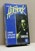 IO CONFESSO (vhs, Alfred Hitchcock, i grandi capolavori del brivido)