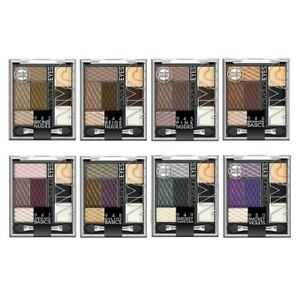 NYC Individual Eyes Eyeshadow Palette with Primer, Gel Liner and Illuminator