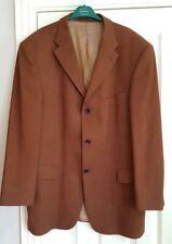 Strellson brown wool blazer jacket 44