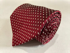 Brooks Brothers Men's Red Geometric Silk Neck Tie $89