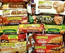 94 NATURE VALLEY LUNCH BAG OFFICE TREAT SNACK BAR ENERGY NUTRITION BARS FREE S/H