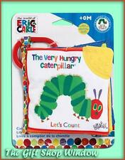 THE VERY HUNGRY CATERPILLAR LET'S COUNT SOFT BOOK BRAND NEW - TEETHER NEW