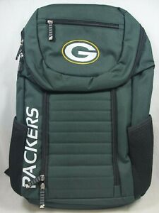 NFL Official Green Bay Packers Northwest Topliner Green Backpack Bag New