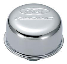 Ford Racing Air Breather Cap Chrome Push-In