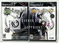 Shin Megami Tensei Digital Devil Saga Bundle 1 + 2 - PS2 - New | Factory Sealed