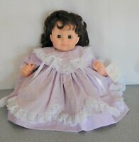 "20"" Madame Alexander Allison doll crier new stuffing original tagged dress slip"