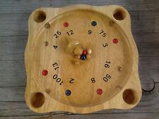 Spiel  -   HOLZROULETTE  -  Tiroler Roulette  -  Bauern-Roulette