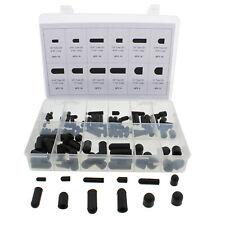ABN Rubber Vacuum Cap 115-Piece Assortment Set – Automotive Hose Line Caps Kit