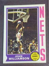 1974 Topps John Williamson RC #234 Nets NM/MT