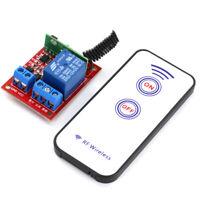 Ein Channel 12V RF Wireless Relais Modul mit Fernbedienung Self-lock