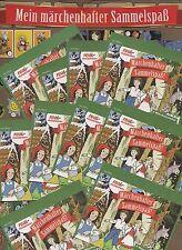 Real Märchenhafter Sammelspaß! 50 Päckchen = 200 Sammelbilder NEU/OVP
