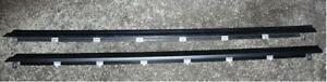 Toyota JZA80 Supra Genuine OEM Door Outside Mouldings - 75710-14250/75720-14250