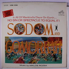 "SOUNDTRACK: Sodom And Gomorrah LP (3"" split) Soundtrack & Cast"
