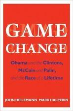 Game Change John Heilemann Mark Halperin Politics Book President Obama Clinton