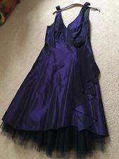 """Debut"" Beautiful PURPLE  Prom Dress from Debenhams, Size 12"