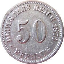 J  7   50 Pfennig  1876 C in SS   575021