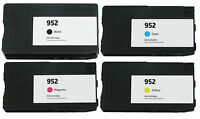 4PK Reman HP 952 Ink Cartridge Officejet Pro 8715 8716 8720 8725 8728 8730 8740