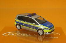 Herpa 094887 VW Touran Polizei NRW Scale 1 87 NEU OVP