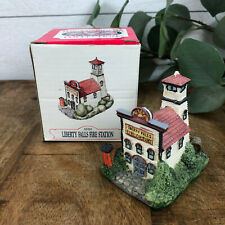 The Americana Collection Liberty Falls Fire Station Ah10
