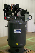 Chicago Pneumatic  Air compressor 10 hp 3 ph two stage, Cast iron NEW other