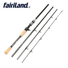 3m/10ft Portable Casting Spinning Rod Carbon Fiber Cork Handle Lure Fishing Pole