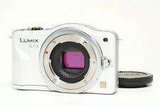 Panasonic Lumix DMC-GF3 12.1MP Micro 4/3 compact camera white BODY ONLY