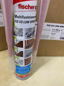 Fischer Multifunktionsmörtel FIS VS Low Speed 300 T Art.Nr:502493 300 ml/490 g