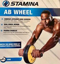 Stamina Ab Wheel Ab Roller abdominal exercise Fitness training core