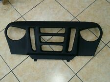 JEEP WRANGLER TJ ANGRY MAD EYES GRILL OVERLAY LIFTED CHROME PARTS L@@K YJ 97-06
