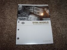 2004 Harley Davidson Dyna Super Glide Street Bob Low Rider Parts Catalog Manual