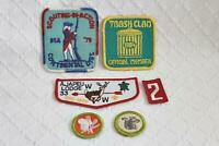 Lot of 6 Boy Scout Patches 1978 Continental District and Other Patches Look-BL