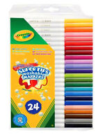 Crayola Supertips  Felt Tips Washable Markers Pens 24 Pack
