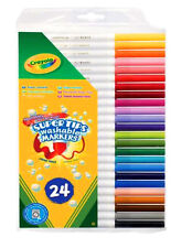 Crayola Supertips  Felt Tips Washable Markers Pens 24 Pack