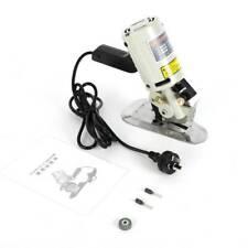 Electric Cloth Cutter Fabric Leather Textile Cutting Machine Knife Scissors 110V