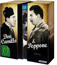 DON CAMILLO und & PEPPONE Gino Cervi FERNANDEL 5 BLU-RAY Klassiker Box Neu