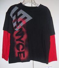 ENYCE Boys Long Sleeve Top SizeMEDIUM 5-6 NWT