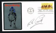 Lester Piggott signed autograph auto First Day Postal Cover FDC The Long Fellow