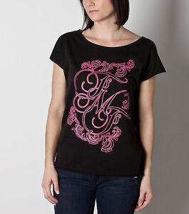 FMF Racing Betty T-Shirt Noir Rose M Neuf