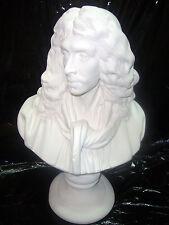 Molière par Houdon,H:41cm.staff(platre armé) article neuf Sculpture Statue Buste