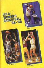 1988-89 UCLA Bruins Women's Basketball Media Guide
