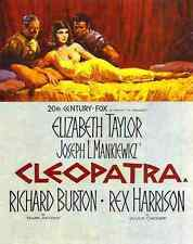 Film Cleopatra 1963 01 A2 Box Canvas Print