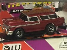 JL AW AUTO WORLD ~ /'55 Chevy Nomad ~ SOLD OUT Everywhere ~ FITS AFX