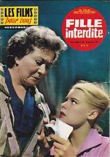 Les Films pour Vous N° 256/1961 - Fille Interdite, Willy Birgel Winnie Markus