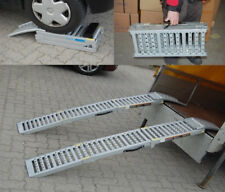 2x Auffahrrampe Stahl 1600 kg klappbar Rampe Auffahrschiene Auffahrbock