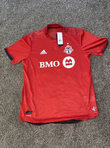 NWT 2019 Adidas MLS Toronto FC Home Soccer Jersey Mens Size L Red GE5902