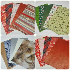Christmas Decopatch, Decoupage Paper Collection Packs ***5x FULL SIZE SHEETS***
