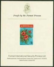 Anguilla 1969 Hibiscus 40c proof/PRESENTATION CARD