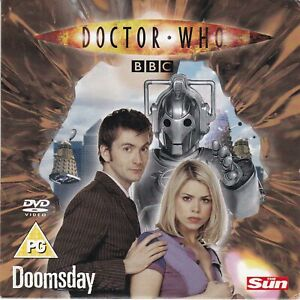 DOCTOR WHO Doomsday ( THE SUN Newspaper DVD ) BBC